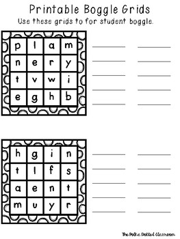 image about Boggle Printable known as Printable Boggle Freebie