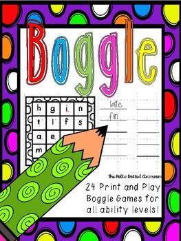 Printable Boggle {{Freebie}}