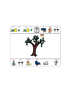 Printable Book:  Little Tree Little Tree What Do You See