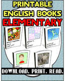 Printable Book Pack Elementary 1 | Reading Comprehension |