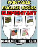 Printable Book Pack Elementary 3 | Reading Comprehension |