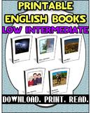 Printable Book Pack Low Intermediate 1 | Reading Comprehension |