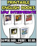 Printable Book Pack Low Intermediate 3 | Reading Comprehension |