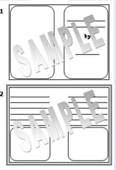 Printable Book Template