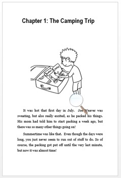 Printable Book and Reading Comprehension Packet - Celiac Disease