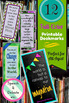 Printable Bookmarks for All Ages!