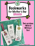 Printable Bookmarks for Mother's Day El Día de la Madre Sp