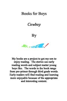 "Printable Books ""Cowboy"""