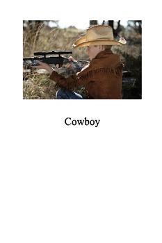 "Printable Books ""Cowboy"""