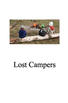 """Printable Books """"Lost Campers"""" Great for reluctant readers"""