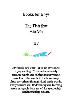 "Printable Books ""The Fish that Ate Me"""