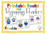 Printable Books for Beginning Readers