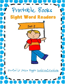Printable Books for Early Readers: Dolch Sight Words Pre-primer 2