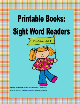 Printable Books for Emergent Readers: Dolch Sight Words Pre-Primer 1