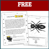 Printable Bugs: An Insect Study on Ants FREE Sample