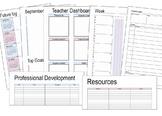 Printable (Bullet Journal style) Teacher Planner 2018-2019 A4