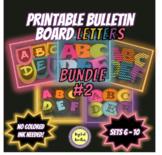 Printable Bulletin Board Letters BUNDLE  ~SETS 6-10~