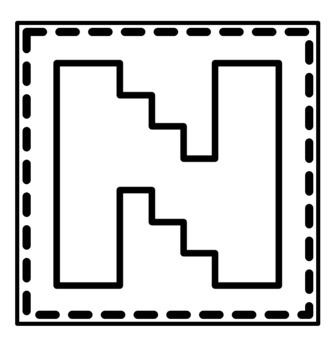 Printable Bulletin Board Letters ~SET 14~