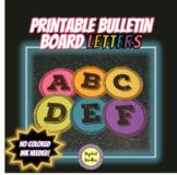 Printable Bulletin Board Letters ~SET 2~