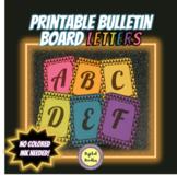 Printable Bulletin Board Letters ~SET 3~