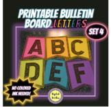 Printable Bulletin Board Letters ~SET 4~
