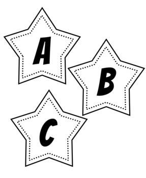 Printable Bulletin Board Letters Set 5 By Digital Doodles Tpt