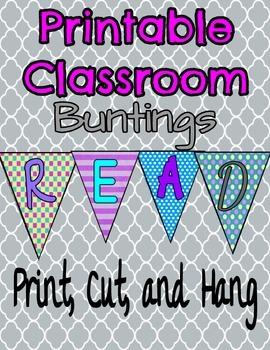 Printable Bunting Banners