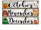 Printable Calendar-Shiplap & Succulent Themes- EDITABLE