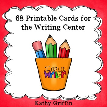 Printable Cards for the Writing Center