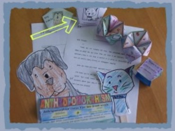 Printable Cat Facts Petal Book: Activity for the Stanley & Katrina books