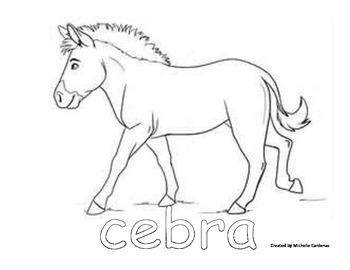 Printable Cebra (Zebra) for Patterns