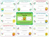 Certificate Awards {editable}