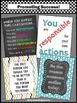 Classroom Rules Posters, Back to School Classroom Decor, Motivational Quotes
