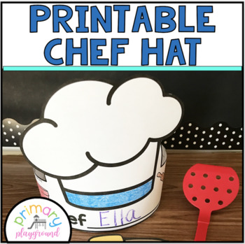 photograph relating to Printable Chef Hat identified as Printable Chef Hat