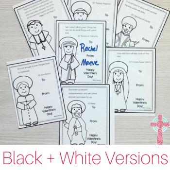 Printable Christian Valentines for Catholic Kids