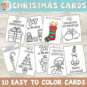photo about Printable Christmas Cards for Teachers named Printable Xmas Playing cards