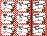 Printable Christmas Gift Tag (Happy Holidays)
