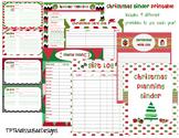 Printable Christmas Planning and Organizing Binder Sheets