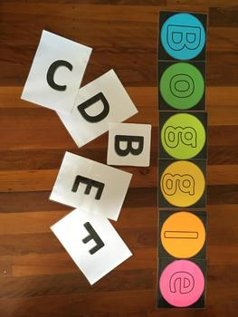 Part 1 Free Printable Classroom BOGGLE WALL HEADING (Part 1 of 2)