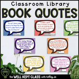Classroom Library Posters | Inspirational Quotes