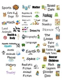 Printable Classroom Library Labels PDF
