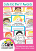 Printable Classroom Merit Awards {Cute Kid} Editable + Backline