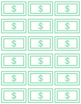 photograph about Classroom Money Printable identified as Clroom Funds Template Worksheets Instruction Components TpT