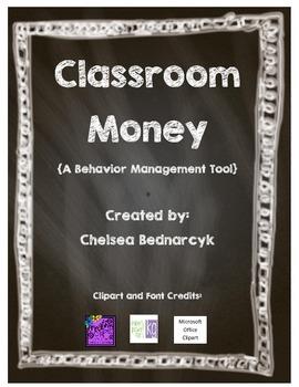 Printable Classroom Money Template