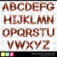 Printable Clip Art *GAME ON - FOOTBALL* Alphabet, Punctuat