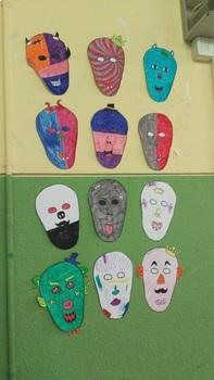 Printable Clipart - Masks - Caretas