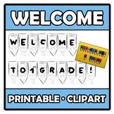 Printable Clipart - Welcome to our class!