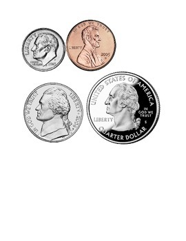 Bright image intended for coins printable