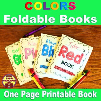 Learning Colors Printable Books