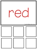 Printable Color Games and Game Pieces. Preschool Learn You